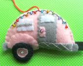 The Little Pink Trailer Ornament