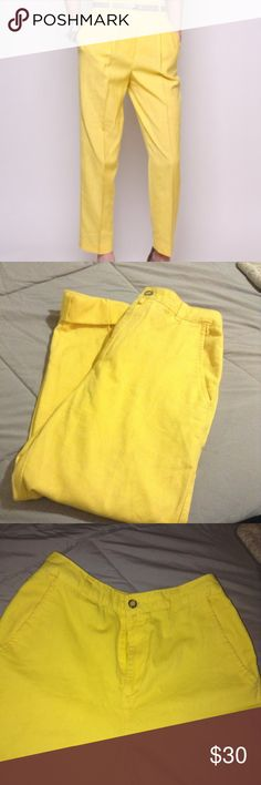 "NWOT ""Vintage"" high waist Trousers 100% Cotton. Waist 28. Vintage look and fit. Size 7 more like a 4. Not zara. Brand is Generra Collection Zara Pants Trousers"