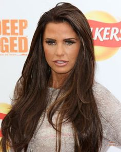 katie price brown hair