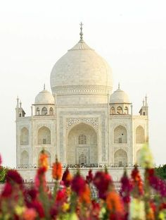 """{Taj Mahal - India} """"Rahul had wondered how someone could love their beloved so much that their dedication to them became one of the wonders of the world. Places Around The World, Oh The Places You'll Go, Travel Around The World, Places To Travel, Around The Worlds, Travel Destinations, Taj Mahal India, Wonderful Places, Beautiful Places"""