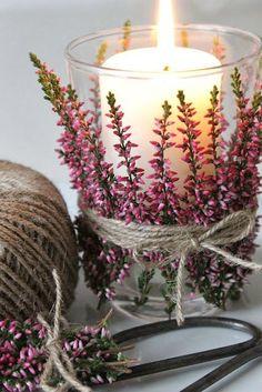 Hora de Diva: Decorações lindas e baratas com flores. Inspirações para sua casa ou sua festa.