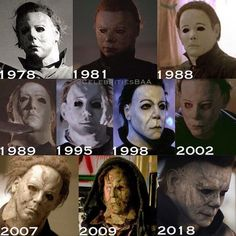 Michael Myers from Halloween Slasher Movies, Horror Movie Characters, Best Horror Movies, Classic Horror Movies, Horror Films, Scary Movies, Halloween Movies List, Halloween Film, Halloween Poster