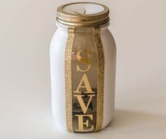 Blog post at Time With Thea : DIY Money Saving Jar Homemade Gift ~ Easily make a painted and decorated money saving mason jar. It makes a great any occasion gift for you[..]