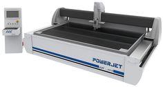 EN// PowerJet VISION - water jet machine with cutting vision. PT// PowerJet VISION - máquina de jacto de água e com visão de corte.