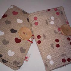 New tea wallets... the cuttest patterns