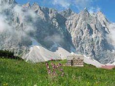 Falkenhütte (Karwendel mountains) - part of the Karwendel 4- day tour. http://www.davplus.de/huettentrekking/karwendeltour