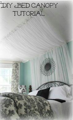 DIY BED Canopy Tutorial!#All#Trusper#Tip