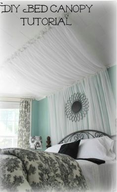DIY BED Canopy Tutorial!#All#Trusper#Tip