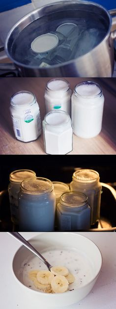 NL Recipe... homemade dairy-free yogurt (oven method) done with almond milk