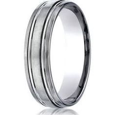 Titanium Grooved Beaded 6mm Wedding Ring Band Size 7.00 Fashion Jewelry Gifts Superior Materials Engagement & Wedding