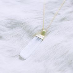 Did you kno Gold Pendant Necklace, Arrow Necklace, Happy Friday, Selenite Crystals, Charity, Collection, Jewelry, Check, Jewellery Making