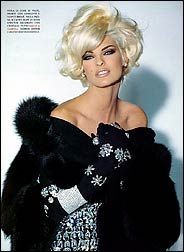 Linda Evangelista.........gorgeous!