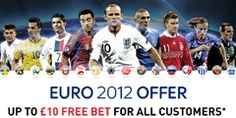 Euro 2012 £10 Free Bet Offer - Get all the latest Euro 2012 news, match previews and the latest football betting offers.
