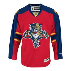 My collection lacks a current Home Florida Panthers jersey