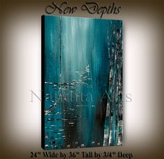 Original Acrylic Abstract painting ABSTRACT by artgallerys on Etsy, $229.00