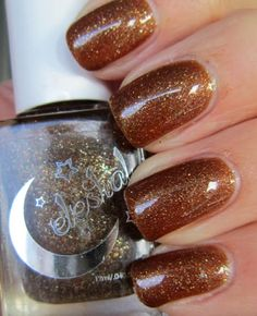 Edgy Polish - Celestial Cosmetics Scorched Sienna