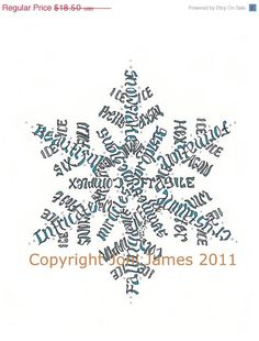 Hey, I found this really awesome Etsy listing at https://www.etsy.com/listing/85277184/sale-wintertime-holiday-snowflake-word