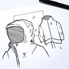 Jackets and bags, jackets and bags. And shoes...and watches...damn it...and headphones...and mid mod furniture...DAMN IT...I realize now that my IG account is kind of a diary to my interests and obsessions. Could be worse . Happy Friday, you Legends! //  TWS (track while sketched): Johnny Rain - Pisces • • • • • #idsketching #sketching #idsketch #analog #designlife #industrialdesign #productdesign #sketchaday #designsketch #instasketch #designsketching #id #productdesignsketch #sketchdaily…