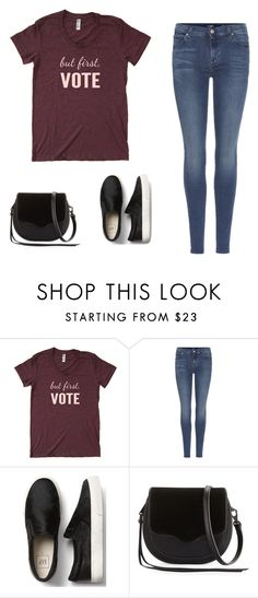 """""""Inspiration"""" by monika1555 on Polyvore featuring 7 For All Mankind and Rebecca Minkoff"""