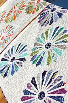 Dresden flowers quilt