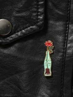 Coke Flower Enamel Pin - Gypsy Warrior