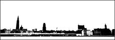 Antwerp skyline - null