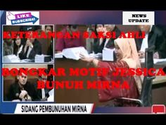 SERU APA LUCU | Sidang Jessica Terbaru | Hakim Binsar Tanya Motif Jessica