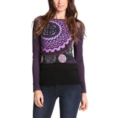 "Desigual T-Shirt ""Lidas"" Lacroix Spring Outfits Women, Cool Style, My Style, Stylish Tops, Refashion, Ideias Fashion, Fashion Online, Graphic Sweatshirt, Couture"