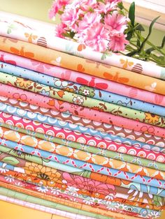 """Bee In My Bonnet: """"Flower Patch""""…my latest fabric collection!!!"""