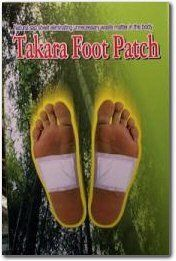 36 Takara Detox Foot Patches - Japanese Detoxification Foot Pads Detoxify the Body While You Sleep. More Restful Sleep, Reduce Fatigue, Remove Toxins. by TakaraPatch. $54.00. HOW DO TAKARA DETOX FOOT PATCHES DRAW TOXINS FROM THE BODY? After many years of research and development it was discovered by some Asian researchers that wood vinegar essence found in certain trees has the ability to absorb toxins through the acupuncture points of the feet. The Takara Det...