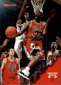 1996-97 Hoops #20 Michael Jordan