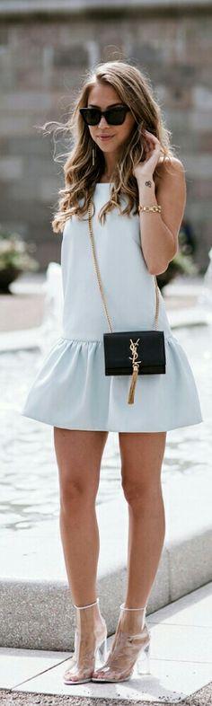Light Blue Dress / Kenza