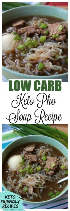 BEST Keto Pho Recipe! via @isavea2z