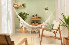 Inspire-se com esse cantinho zen na varanda para montar um na sua casa e aproveitar ainda mais a sua casa neste verão!