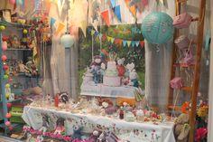pour les 40 ans de moulin roty , l atelier de floval a organisé un grand gouter d anniversaire