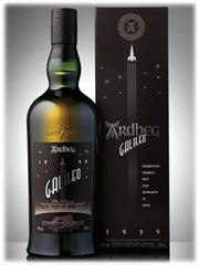 ARDBEG 1999 Galileo. We were all floating in a most peculiar way after sampling this. Delicious!