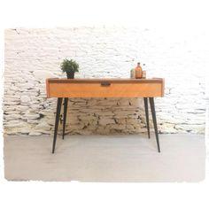 Console Vintage, Grande Niche, Office Desk, Decoration, Furniture, Home Decor, Standing Desks, Knitting Machine, Arredamento