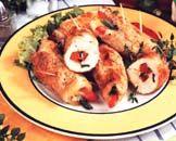 La cuisine polonaise Roulade de volaille