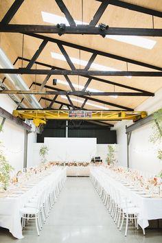 Dany + David: Urban Garden Party Wedding - twotonmax  » Love Katie + Sarah Garden Party Wedding, Melbourne Wedding, Table Plans, Wedding Inspiration, Wedding Ideas, Wedding Venues, Ceiling Lights, Urban, Crafty