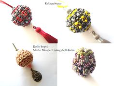 Kekagyöngye Crochet Necklace, Beaded Bracelets, Jewelry, Jewlery, Jewerly, Pearl Bracelets, Schmuck, Jewels, Jewelery