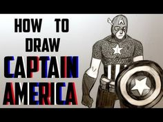 Ep. 120 How to draw Captain America (+playlist)
