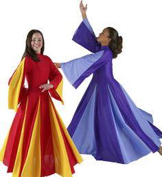 Praise Dance Dresses, Liturgical Dresses, & Praise Dance Uniforms