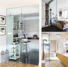 1000 images about puerta corredera cocina on pinterest - Puertas de cocina de cristal ...