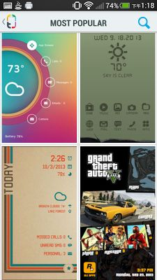 Themer 一鍵 Android 手機桌面美化 App 超簡單真正改頭換面 -電腦玩物