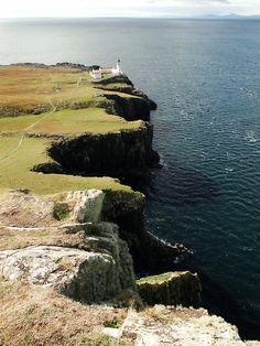 Neist Point, Isle of Skye | Scotland (by QuidamCress)