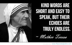great people | In speaking, kind words are short and easy » My Lovely Quotes