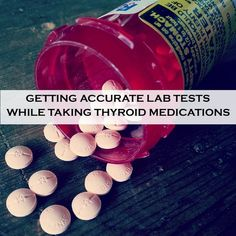 GOOD TO KNOW FOR #THYROID TESTING: Slightly different rules apply to the timing of the lab draw based on the type of thyroid medication you are taking.