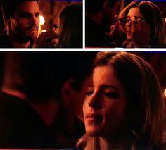 I love you #Arrow #Olicity #3x20 <3<3<3