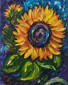 My Sunshine (Palette Knife)