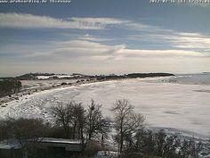 Strand von Klein Zicker nach Thiessow im Winter Wakeboard, Spaces, Beach, Outdoor, Water Sports, Island, Studying, Nature, Outdoors